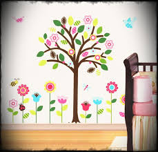 christmas wall decorations ideas with many wonderful wall painting