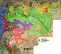 Isis Syria Map by Crowdsourcing Maps Of Isis And Other Middle East Conflicts