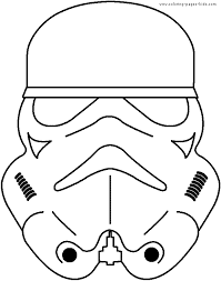 star wars color cartoon characters coloring pages color