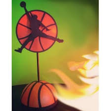 Basketball Centerpieces Birthday Party Centerpieces