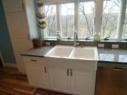 Kitchen Apron Sink White Farmhouse Sink Hillside Inch Apron Kitchen Sink