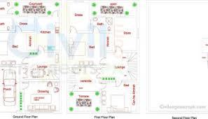 Home Design For Rectangular Plot New 10 Marla House Design Civil Engineers Pk