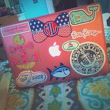 preppy decals 75 best preppy stickers images on southern prep