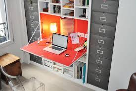 meuble bibliothèque bureau intégré bureau avec rangement moderne mobilier de bureau blanc eyebuy