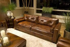 living room leather sofas with nailhead trim best images about