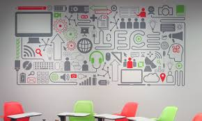 LEC Wall Graphic Paul Tynes Graphic Design - Wall graphic designs