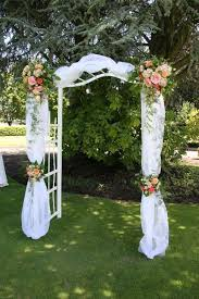 wedding arches using tulle best of how to decorate a wedding arch with tulle wedding decor