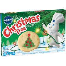 pillsbury ready to bake christmas cookies christmas cookie