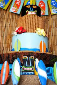 Luau Cake Decorations Kara U0027s Party Ideas Tiki Luau Summer Beach Swim Party Planning
