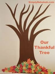 november thankful tree
