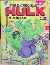 write 1977 incredible hulk coloring book