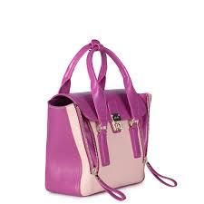 color queen series motorcycle bag red and pink