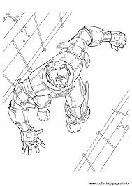 iron man 3 a4 avengers marvel coloring pages printable