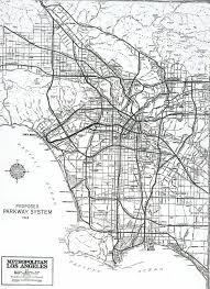 Los Angeles Street Map by California Highways Www Cahighways Org Southern California