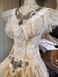 Custom Made Wedding Dresses Custom Made Wedding Dress Vintage Inspired Wedding Antique Lace