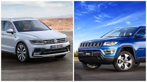 jeep compass 7 seater jeep compass vs volkswagen tiguan price features