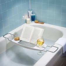 Wine Glass Holder For Bathtub 26 Best Bath Trays Images On Pinterest Bathtub Tray Bathroom