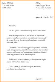 lettre motivation apprentissage cuisine 8 exemple de lettre de motivation pour un apprentissage format lettre