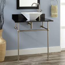 Artistic Bathroom Appearance Glass Bathroom Vessel Sink Signature Hardware