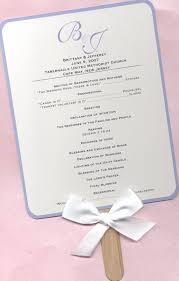 fan style wedding programs selissa s asian wedding theme