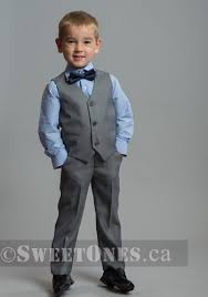 light gray vested suit sweet ones boutique aurora ontario boy formal boys suits