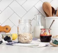 healthy seasonal whole food recipes blog love and lemons once your jam is ready and has set let it sit in the fridge for at least an hour layer up your jars with oats almond milk chia jam extra blueberries