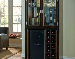 Small Bar Cabinet Bar Cabinet With Wine Fridge Bikepool Co