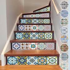 home stairs decoration diy 3d stairway stickers ceramic tile sticker for room stairs