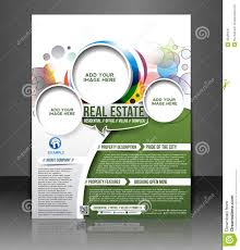 Real Estate Advertising Templates by Real Estate Flyer Design Stock Vector Image 40489492