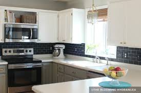 painted cabinets before and after painting kitchen cabinets before after