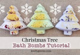how to make tree bath bombs lovely greens garden