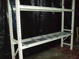 Heavy Duty Steel Shelving by New U0026 Used Steel Shelving Shelves Clip Republic Enclosed