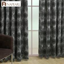 Black Floral Curtains Floral Curtains For Living Room Window Blue Black Shade Luxury