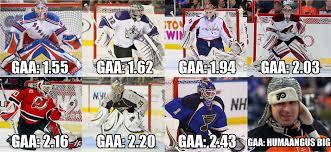 Hockey Goalie Memes - remaining playoff goalies rebrn com