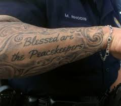 72 best police tattoos images on pinterest american flag sleeve