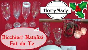 decorazioni bicchieri natale fai da te tre idee per decorare i bicchieri diy 3