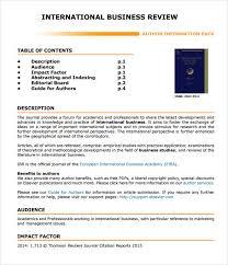 business review template balanced scorecard template 13 free word