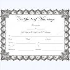 doc 764590 marriage certificate template u2013 flowers marriage