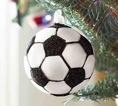 soccer ornament pottery barn