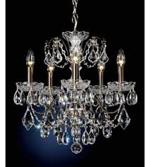 pearl chandelier schonbek 1704 49 century 5 light 17 inch black pearl chandelier