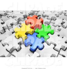 royalty free jigsaw stock designs