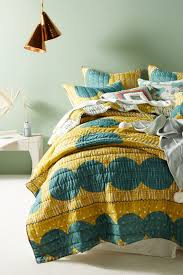 turquoise quilted coverlet green unique quilts bedding coverlets anthropologie