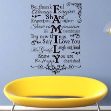 how to make vinyl wall decals home the home redesign image of vinyl wall art stickers large family rules wall decals for living in vinyl