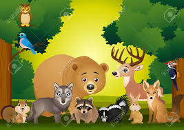 imagenes de thanksgiving para facebook 139 111 forest animals stock illustrations cliparts and royalty