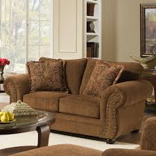 Simmons Upholstery Furniture Red Barrel Studio Simmons Upholstery Stuart Loveseat U0026 Reviews