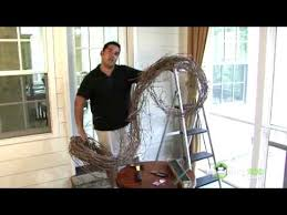 Garland Hangers For Banister Hanging The Grapevine Garland Youtube