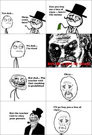 Derp Meme Comic - troll dad rage comic by albowtross91 on deviantart