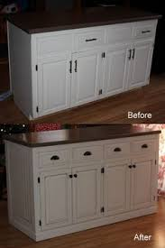 Kitchen Island Makeover Ideas Beef Up A Kitchen Island With Board Batten 2x4 Corners And