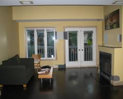 yellow walls living room nice yellow wall can be decor with black modern living room floor