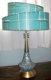 Vintage Table Lamp Shades Teal Table Lamp Shades With 25 Best Fiberglass Images On Pinterest